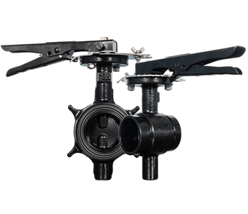 4 in. Grooved Butterfly Valve (BFV) 300PSI Lever Type