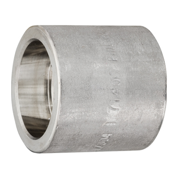3/8 in. Socket Weld Half Coupling 316/316L 3000LB Forged Stainless Steel Pipe Fitting