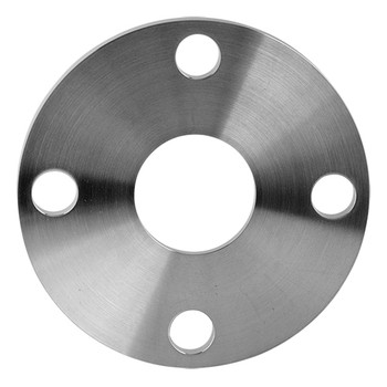 4 in. 38SL Back-Up Flange 304 Stainless Steel, Tube OD Sanitary Flange