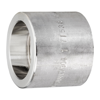 3/8 in. Socket Weld Full Coupling 316/316L 3000LB Forged Stainless Steel Pipe Fitting