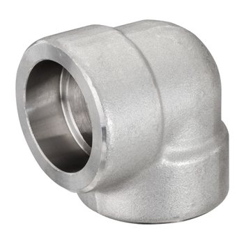 3/8 in. Socket Weld 90 Degree Elbow 304/304L 3000LB Forged Stainless Steel Pipe Fitting