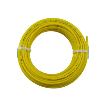 1/4 in. OD Linear Low Density Polyethylene Tubing (LLDPE), Yellow, 100 Foot Length, Working Pressure 350