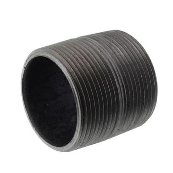 1/2 in. x Close Black Pipe Nipple Schedule 80 Welded Carbon Steel