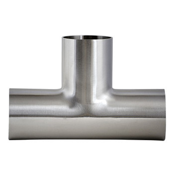 1 in. 7W Tee 316L Stainless Steel Sanitary Fitting