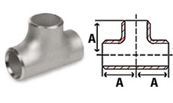 Stainless Steel Butt Weld Pipe Fittings Tees