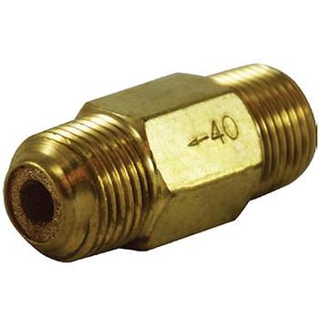 3/8 in. Nipple Inline Filter, Brass Body, Max Operating Pressure: 300 PSI