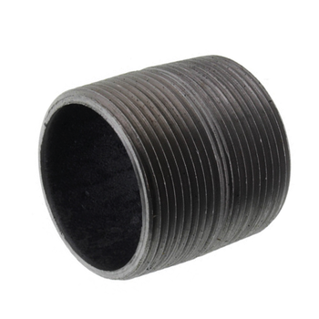 3/4 in. x Close Black Pipe Nipple Schedule 80 Welded Carbon Steel