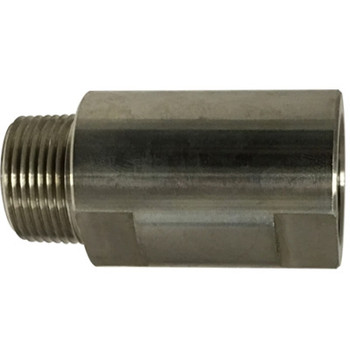 3/8 in. MNPT x FNPT Female Spring Check Valve, 1500 PSI WOG Working Pressure, 316 Stainless Steel
