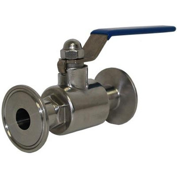 1.5 in. Tri-Clamp by 1 in. Ball Valve, 304 Stainless Steel