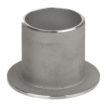 1 in. Stub End, SCH 10 MSS Type C, 316/316L Stainless Steel Weld Fittings