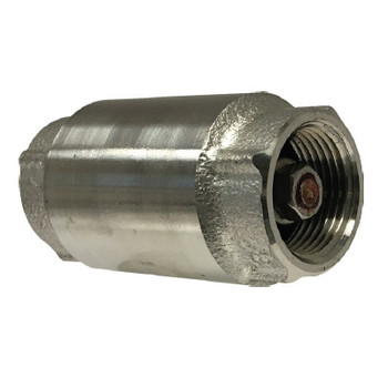 1 in. In-Line Check Valve, 304 Stainless Steel