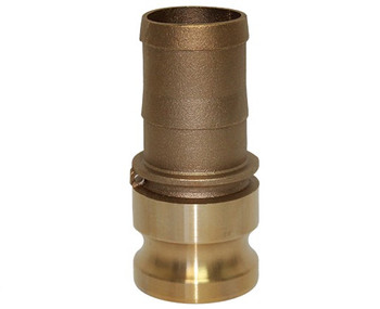 3/4 in. Type E Adapter Brass Cam and Groove Male Adapter x Hose Shank