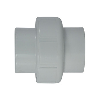 1/2 in. PVC Slip x Slip Union, PVC Schedule 40 Pipe Fitting, NSF 61 Certified