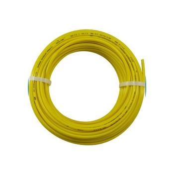 3/8 in. OD Linear Low Density Polyethylene Tubing (LLDPE), Yellow, 100 Foot Length
