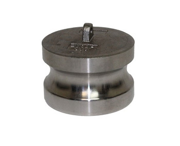 1/2 in. Type DP Dust Plug 316 Stainless Steel Male End Adapter