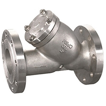 1/2 in. CF8M Flanged Y-Strainer, ANSI 150#, 316 Stainless Steel Valve