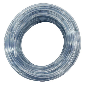 5/8 in. OD PVC Tubing, Clear, 100 Foot Length, Tube ID: 3/8