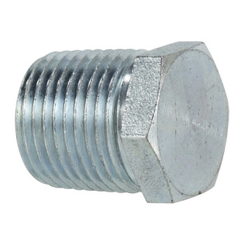 1/2 in. Hex Head Plug Steel Pipe Fitting
