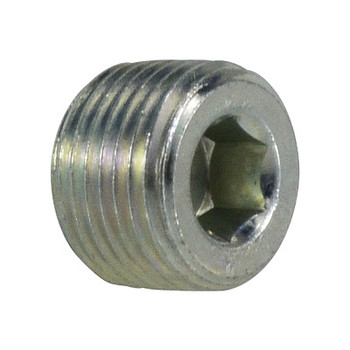 3/8 in. Hollow Hex Plug Steel Pipe Fitting