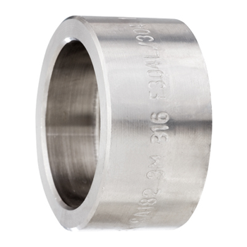 1 in. Socket Weld Cap 316/316L 3000LB Forged Stainless Steel Pipe Fitting