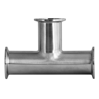 7MP Tee (Clamp x Clamp) (3A) 304 Stainless Steel Sanitary Fitting