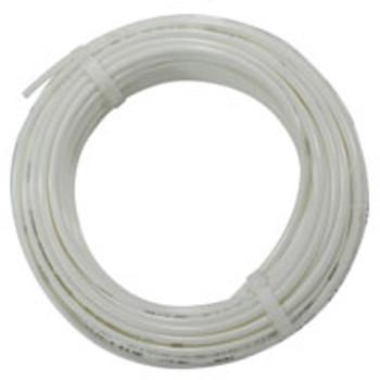 3/8 in. OD Linear Low Density Polyethylene Tubing (LLDPE), White, 100 Foot Length