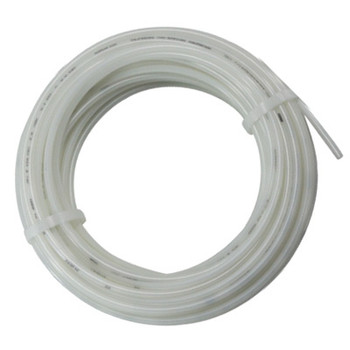 1/8 in. OD Nylon 12 Tubing, 100 Foot Length, Color: Natural