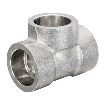 1/4 in. Socket Weld Tee 316/316L 3000LB Forged Stainless Steel Pipe Fitting