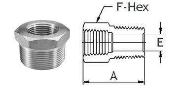 Stainless Steel High Pressure Fittings 316 Stainless Steel | Bushings
