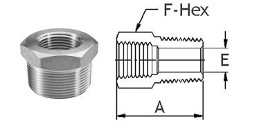 Stainless Steel High Pressure Fittings 316 Stainless Steel | Bushings