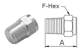Stainless Steel High Pressure Fittings 316 Stainless Steel | Pipe Plugs