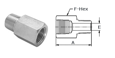 Stainless Steel High Pressure Fittings 316 Stainless Steel