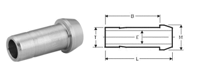 Stainless Steel Compression Fittings Tube Fittings Port Connectors