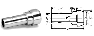 Stainless Steel Compression Fittings Tube Fittings Reducing POrt Connectors
