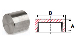 Caps Threaded 3000 lb Stainless Steel Forged Pipe Fittings