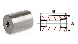 Reducer Couplings Threaded 3000 lb Stainless Steel Forged Pipe Fittings