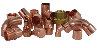 Reducer Coupling (FTG x C) Wrot Solder Joint Copper Fitting