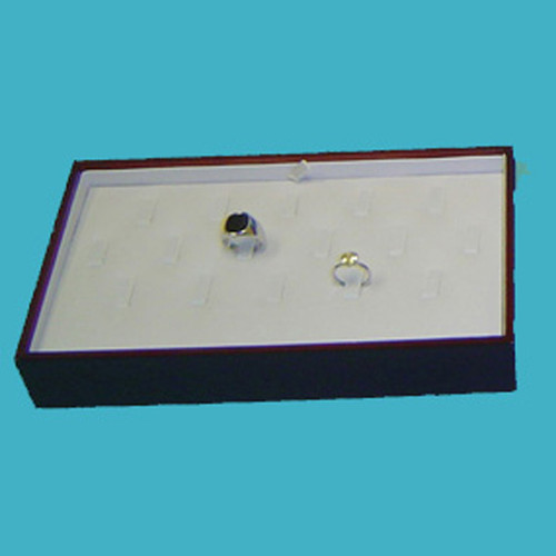 Wood frame stackable ring tray - WD700