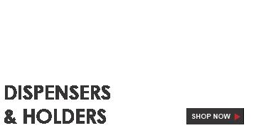 Dispensers & holders
