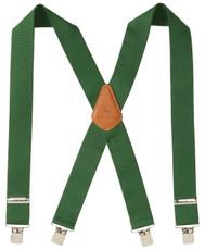 "John Deere 2"" Logger Style Suspenders - Green - 4200000-364"