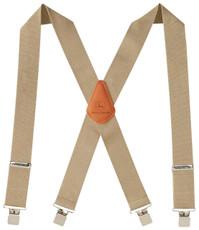 "John Deere 2"" Logger Style Suspenders - Khaki - 4200000-250"