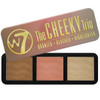 W7 The Cheeky Trio, Bronzer, Blusher & Highlighter Tin, 1 Ea