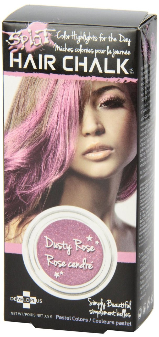 Splat Hair Chalk Highlights Dusty Rose 35 Gr 1 Ea Nationwide