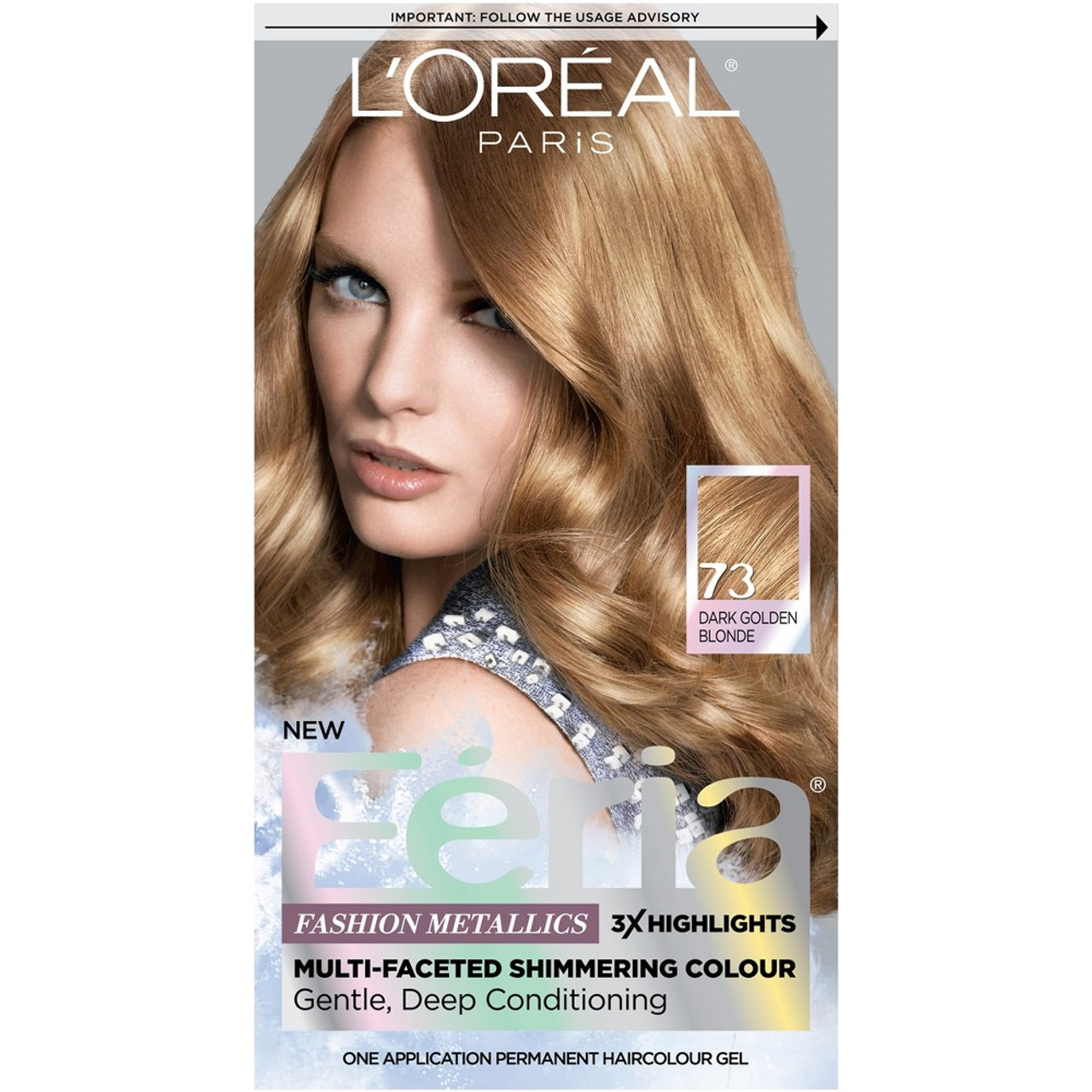 Loreal Paris Feria Multi Faceted Shimmering Colour Permanent