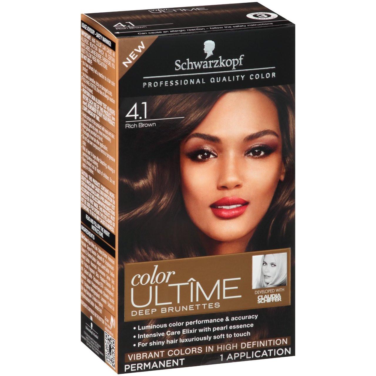 Schwarzkopf Color Ultime Deep Brunettes Permanent Hair Color Kit