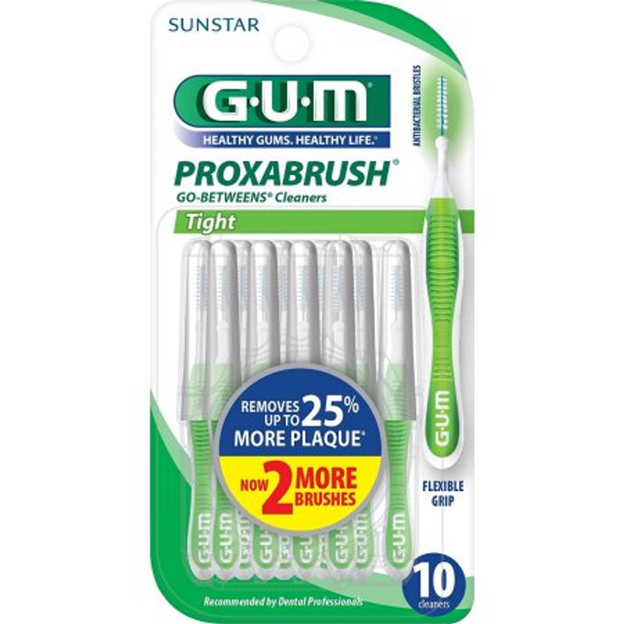 Butler GUM Go Betweens Proxabrush, Tight, 10 Ct, 1 Ea