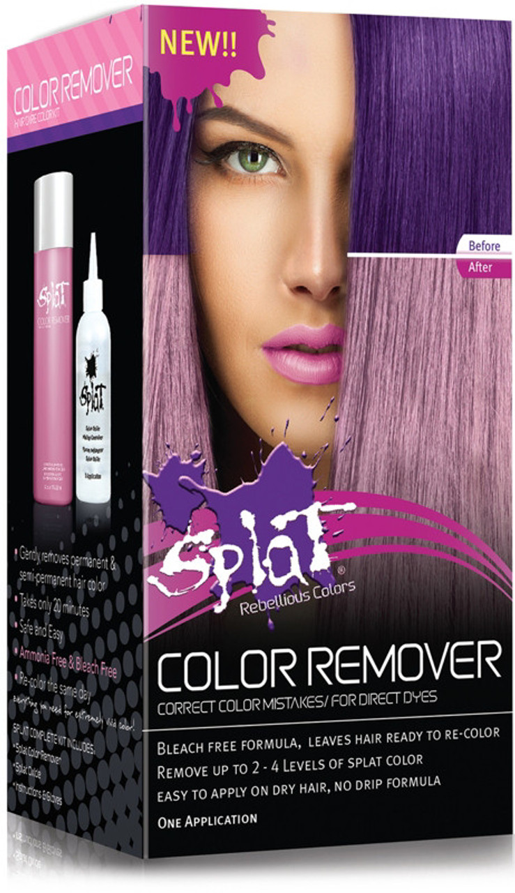 Splat Hair Color Remover 1 Lication