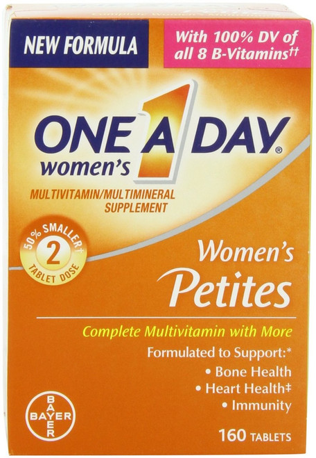 One A Day Women's Petites Multivitamin & Mineral Supplement Tablets, 160 ct, 1 Ea