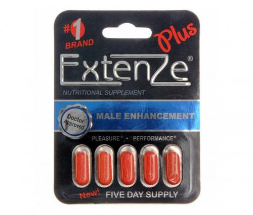 Extenze Plus Male Enhancement Tablets, 5 ct, 1 Ea