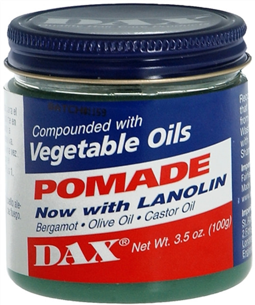 Dax Pomade With Lanolin, 3.5 oz, 1 Ea